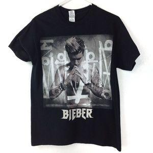 Black Bieber Purpose Tour tee unisex
